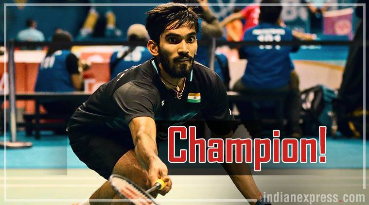 kidambi srikanth, srikanth, indonesia super series