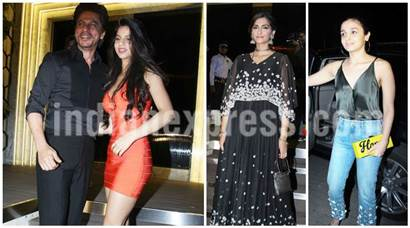 Shah Rukh Khan's daughter​ Suhana snatched the limelight from Alia Bhatt, Sonam Kapoor at Gauri Khan's starry restaurant launch