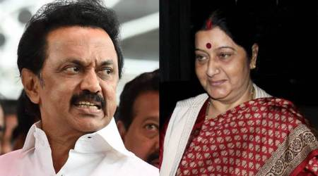 MK Stalin urges Sushma Swaraj to ensure interests of Indians in Qatar