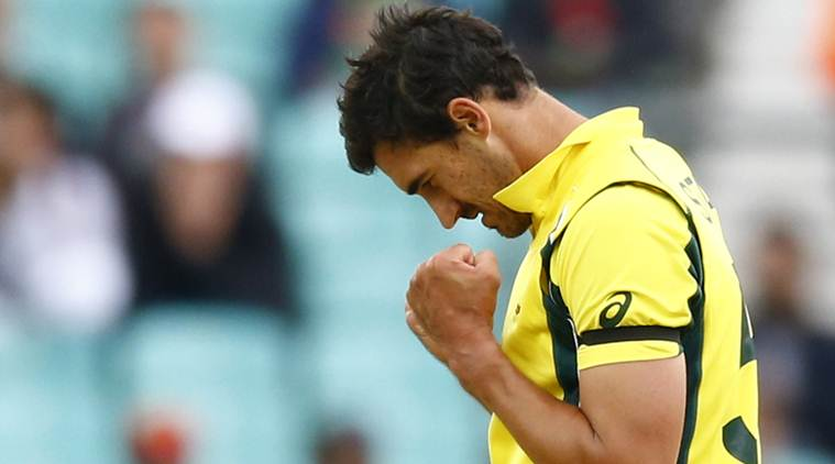 Mitchell Starc, Australia vs Bangladesh, Indian Express