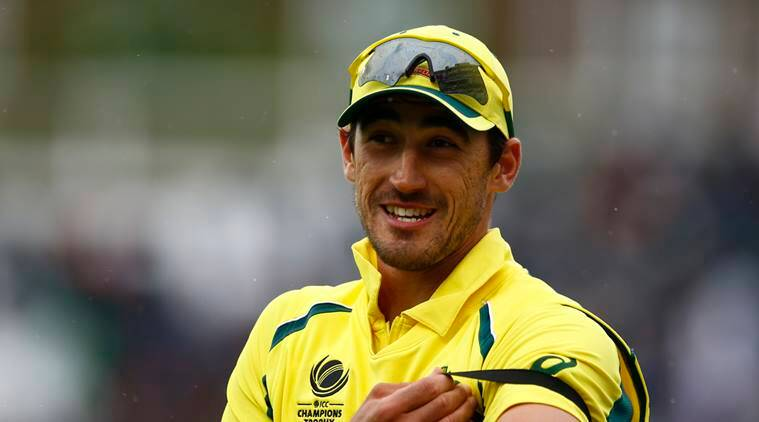 mitchell starc, starc, australia, england, bangladesh, new zealand, champions trophy, icc champions trophy 2017, cricket, sports news, indian express