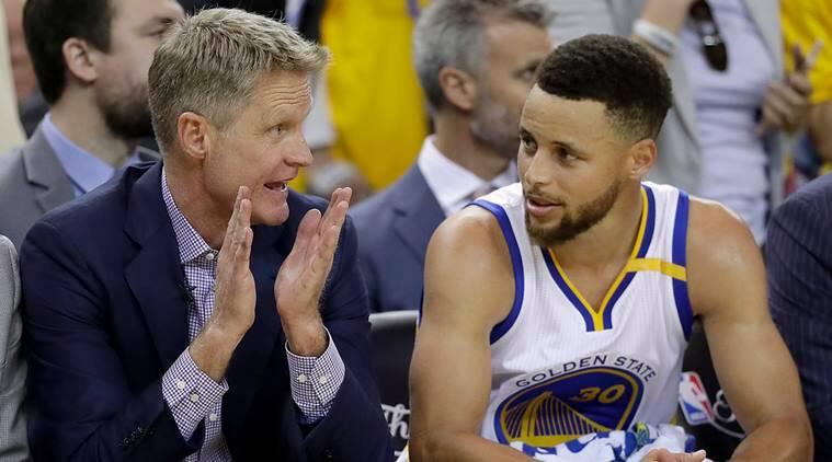 steve kerr, Golden State Warriors, NBA Finals, Cleveland Cavaliers, sports news, indian express