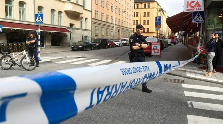 Sweden, Stockhold accident, Truck rams car, Terrorist attack