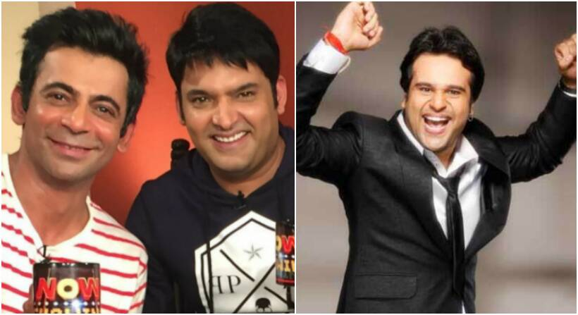 sunil grover, kapil sharna, krushna abhishek, kapil krushna fight, kapil sunil fight