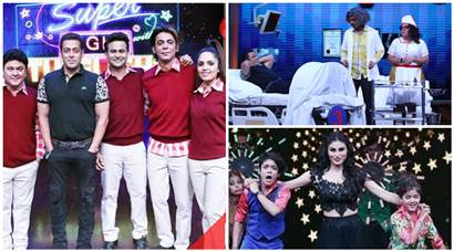 Super Night with Tubelight, Salman Khan, Sunil Grover, Ali Asgar, Mouni Roy, Super Night with Tubelight images, Sunil Grover Dr. Mashoor Gulati, Salman Khan Sunil Grover images