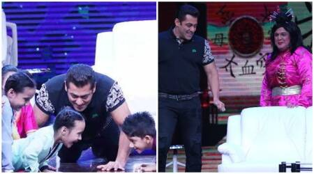 super night with tubelight, salman khan, sunil grover, salman khan super night with tubelight, stills