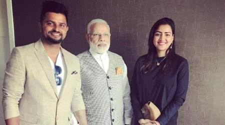 Suresh Raina, Narendra Modi, Indian Express