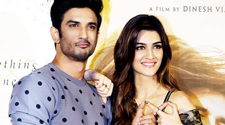 Image result for kriti sanon and sushant pics