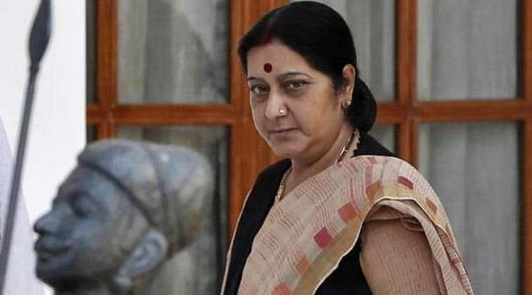 sushma swaraj, meira kumar, presidential polls, sushma swaraj attacks meira kumar, opposotion presidential nomination, ram nath kovind, dalit president