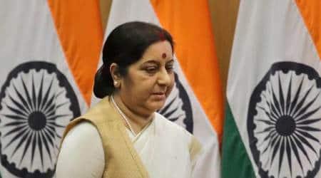 spain terror attack, barcelona terror attack, sushma swaraj, indians in spain, spain terror attack indians, barcelona terror attack indians, sushma swaraj spain terror attack, indian express news