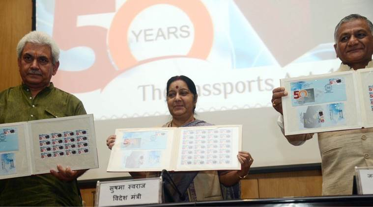 Sushma Swaraj, passport, india passport, passport seva, passport application, bilingual passport, india news, indian express