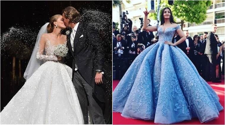 Aishwarya rai wedding dress images