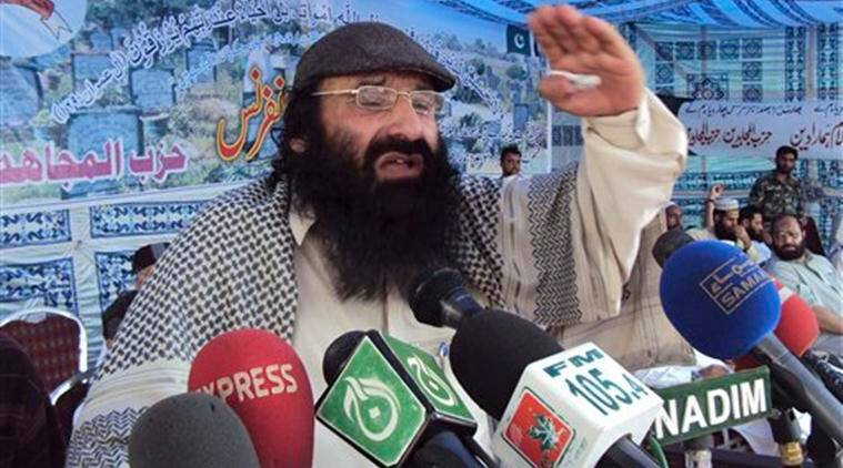 Hizbul Mujahideen, Syed Salahuddin, US Hizbul Mujahideen, Sayeed Salahudeen, Jammu and Kashmir
