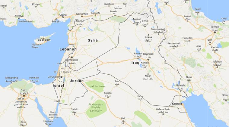 Syria, Iraq troops link at border for first time in years ...