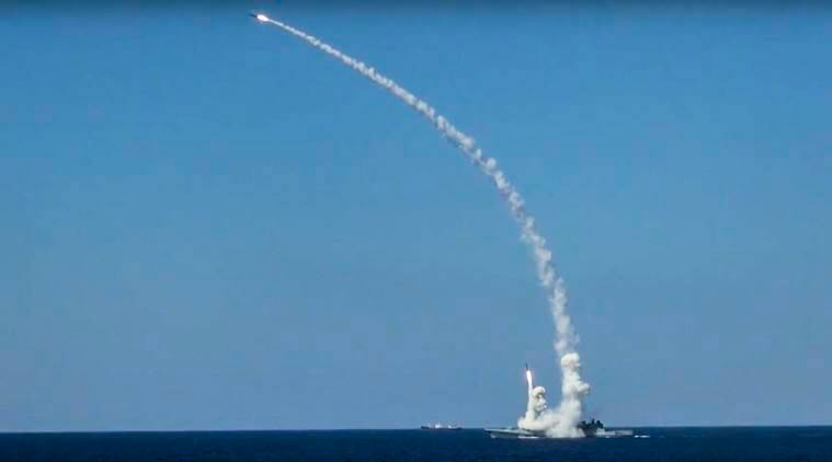 Russia, Syria, Islamic state, IS, Russia US, US, Russian warships, missile attack,
