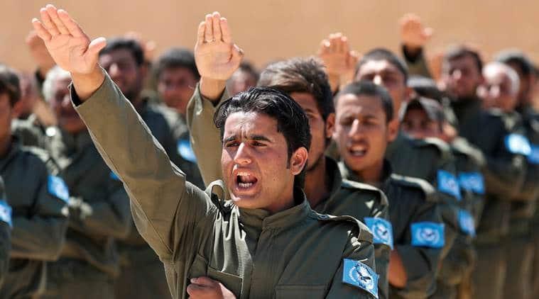 Syria, Syrian forces, Raqqa, US backed Syrian militia, Syrian militia,