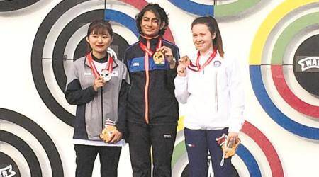 Panchkula teen bags gold in 10m Air Pistol event
