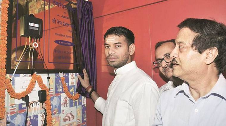 Tej Pratap Yadav, BPCL, Tej Pratap BPCL, Tej Pratap Yadav petrol pump licence, Bharat Petroleum Corporation Limited, Bihar, india news, indian express