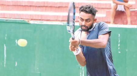 National ranking tennis: Upsets mark first round as trainees net wins in women's, men's singles