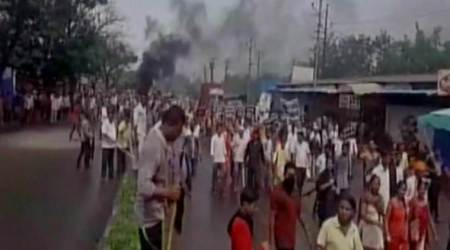 Thane Farmers Protest Turns Violent, Clash With Police