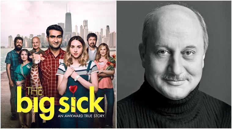 the big sick, anupam kher, the big sick poster, anupam kher photos, anupam kher the big sick