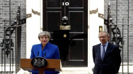 British PM Theresa May's statement in DowningStreet