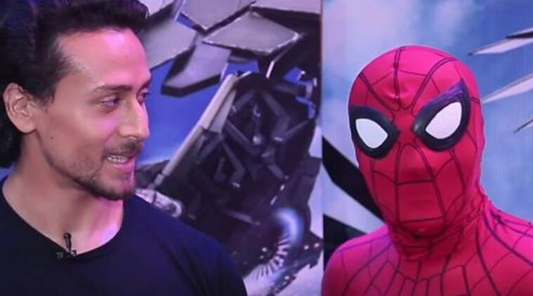 Tiger Shroff, Spider Man Homecoming, Spider Man Homecoming hindi