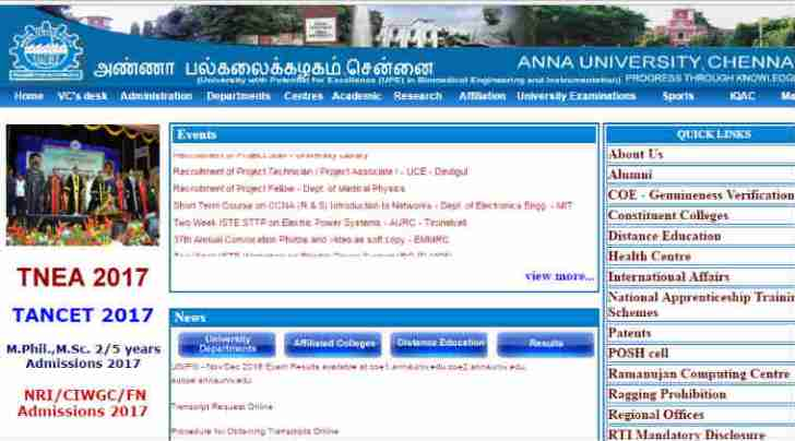 tnea, tnea.ac.in, annauniv.ac.in, anna university, Tamil Nadu Engineering Admission,