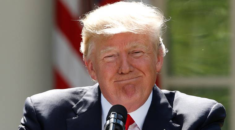 donald trump, trump climate agreement, paris climate agreement, us paris climate agreement, climate change, trump news, world news, indian express news