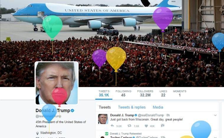 donald trump, trump, trump birthday, potus birthday, trump 71 birthday, trump birthday memes, trump cabinet meeting, donald trump memes, viral news, trending news, world news, indian express