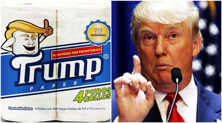 donald trump, donald trump mexico, donald trump mexican businessman, trump toilet paper, what is trump toilet paper, donald trump trolled, indian express, indian express news
