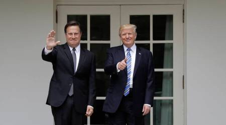 Trump meets Panama President in White House, hails 'good job' on Panama Canal