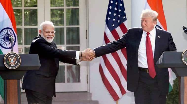 Modi-Trump Joint Statement, Modi USA Visit, Express in Washington, Indian Express news