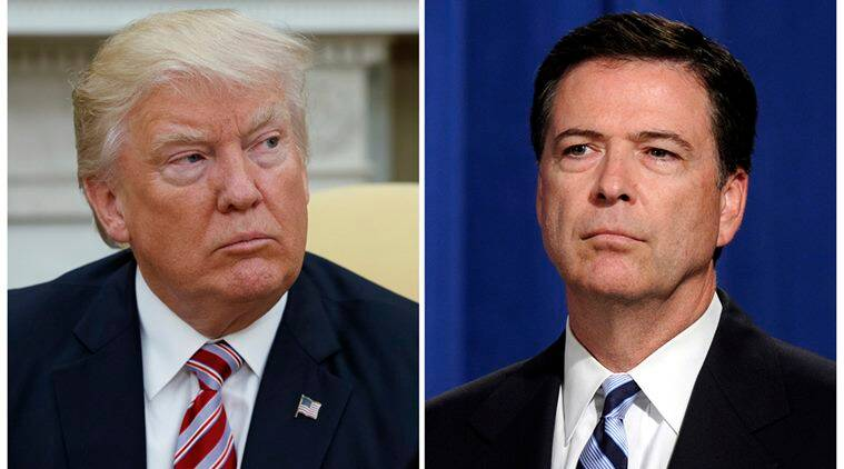 james comey, donald trump, us president, ex fbi director, james comey new book, hillary clinton emails, indian express
