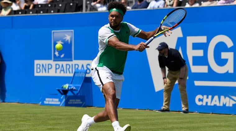 Jo-Wilfried Tsonga, French Open, Queen's Club Championships, Renzo Olivo vs Jo-Wilfried Tsonga