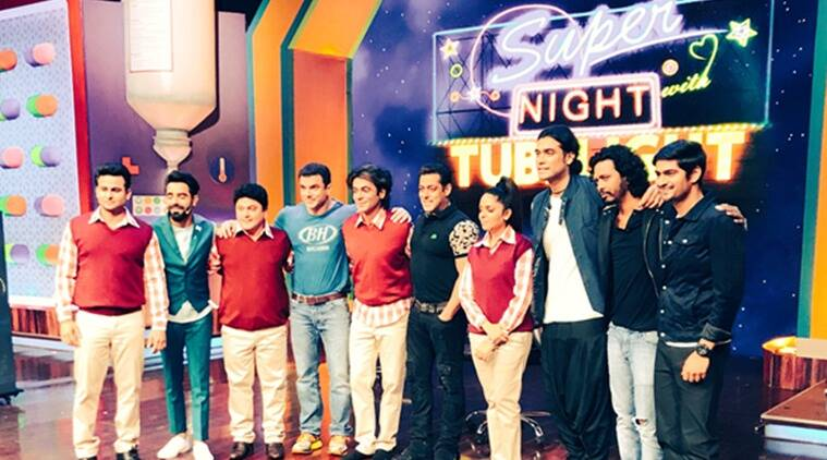 super night with tubelight, salman khan, sunil grover, kapil sharma, the kapil sharma show, ali asgar, sohail khan, jubin nautiyal
