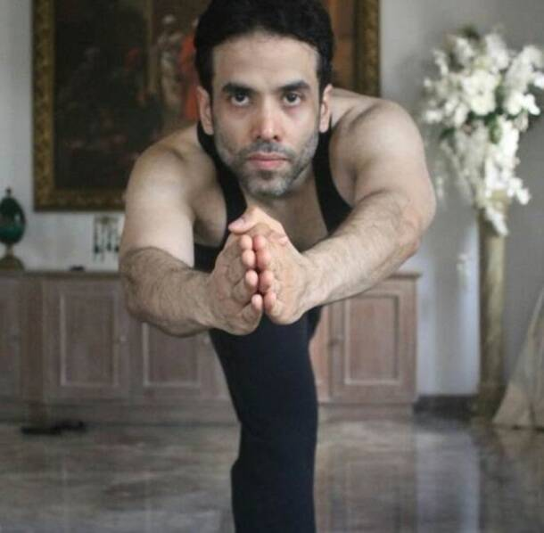 International Yoga Day 2017, International Yoga Day, International Yoga Day images, Tusshar Kapoor