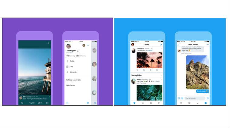 Twitter, Twitter redesigned, Twitter design change, Twitter update, Android