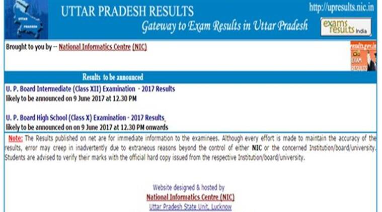 UP Board 10th Class result 2017 date and time: Results ...