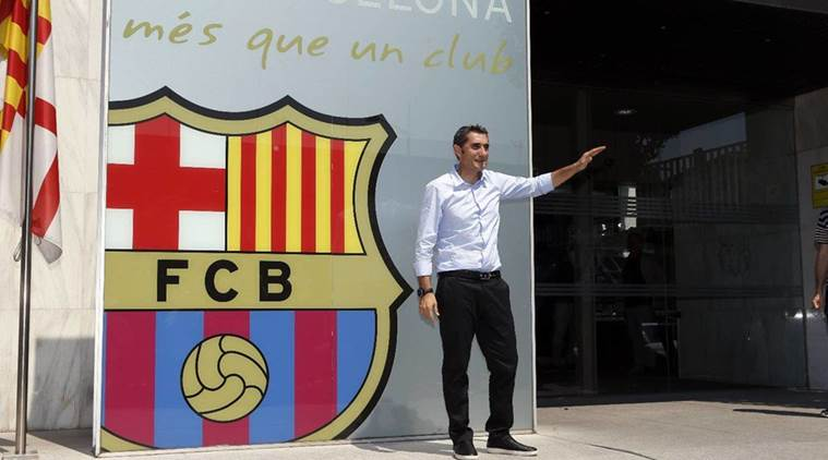 Valverde signs contract to become Barcelona coach