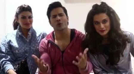 Judwaa 2: Varun Dhawan, Taapsee Pannu, Jacqueline Fernandez are out to find real life twins. Watch video