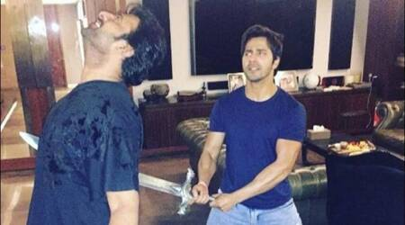 After Varun Dhawan stabbed Baahubali Prabhas, he refused to call him by his name. Here's why