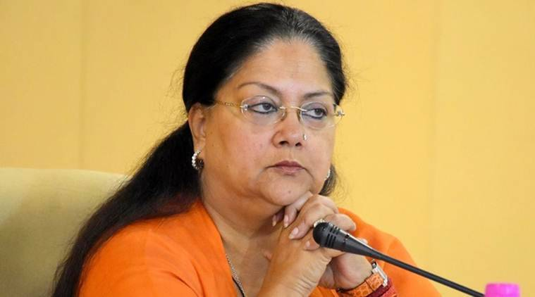 vasundhara raje, rajasthan, Rajasthan government, BJP, Rajiv gandhi, rajasthan ordinance,  rajiv gandhi 1988 defamation bill, investigation against public servants, govt officer corruption, rajasthan cm,
