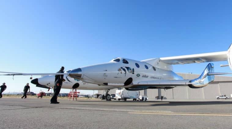 Virgin Galactic, unpowered test flight,space tourism spacecraft, glide flight,VSS Unity