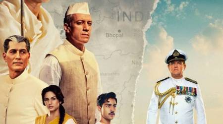 viceroy's house, partition 1947, gurinder chadha film, huma qureshi photos