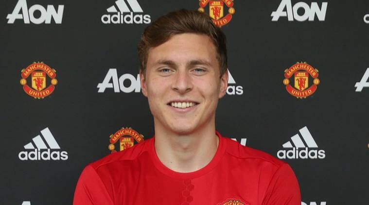 Victor Lindelof, Victor Lindelof to manchester united, Victor Lindelof manchester united, benfica, Vasteras, football, sports news, indian express