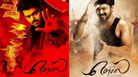 Mersal first look: Vijay 61 gets a name and the star's second look also revealed. See photo