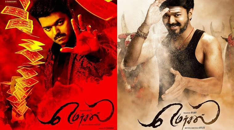 Mersal First Look Vijay 61 Gets A Name And The Stars Second Look