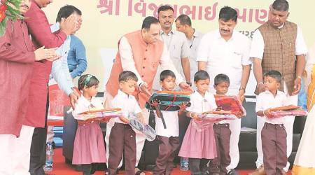 Tablets to replace bags, books in govt primary schools: Gujarat CM