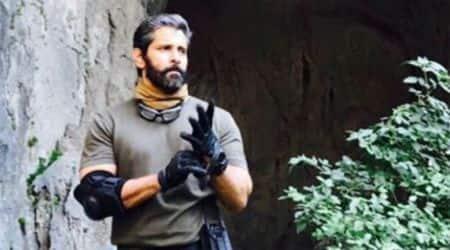 Dhruva Natchathiram: Vikram shoots in Bulgaria, Radikaa and Simran join star cast. Seephotos